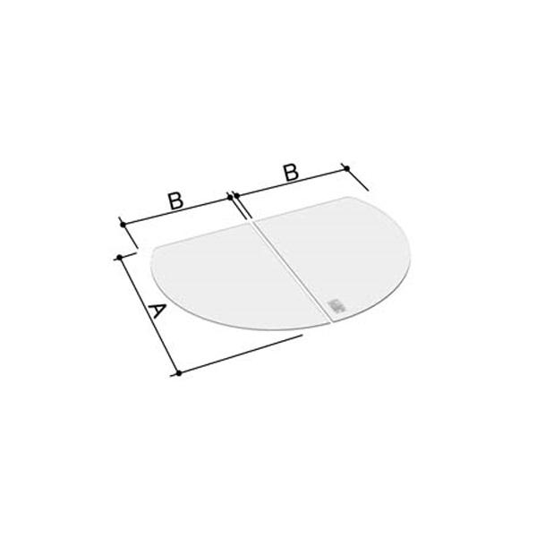 風呂ふた 795×1590mm 1600用組ふた(2枚) YFK-1612B(2) / LIXIL INAX