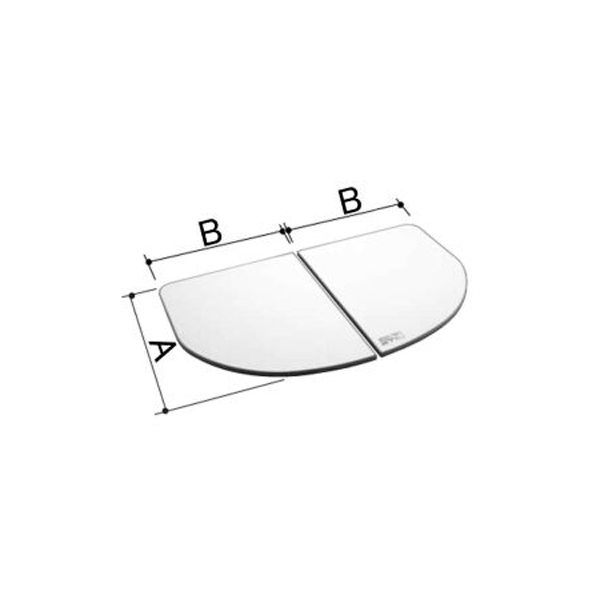 LIXIL INAX 風呂フタ 風呂ふた 960×1550mm 1600用保温組ふた(2枚) YFK-1698B-D-T / LIXIL INAX