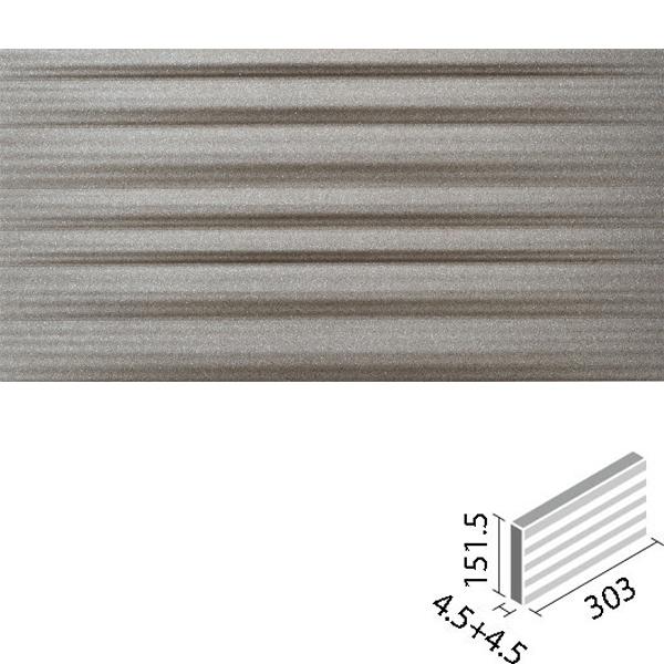 LIXIL INAX タイル エコカラットプラス グラナス ラシャ 303×151角平(レリーフ) ECP-315/RAX4