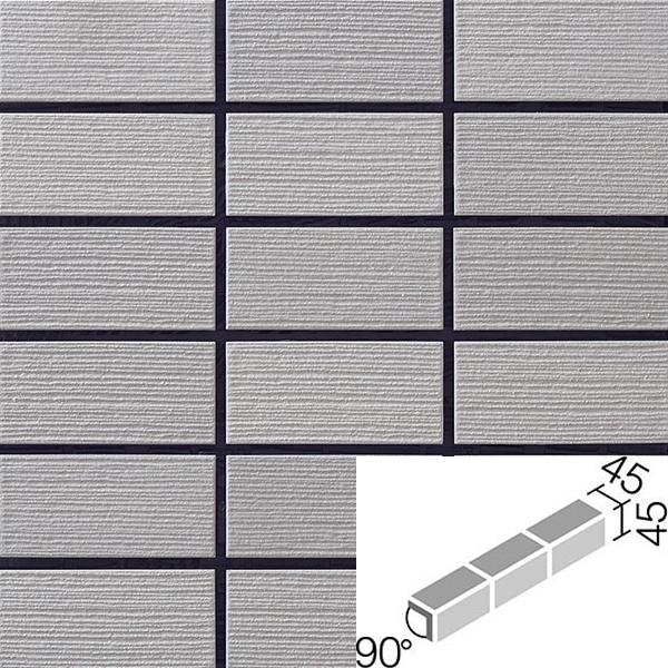 バレット 90°屏風曲ネット張り COM-A255PNET/90-15/VAL-2 / LIXIL INAX タイル