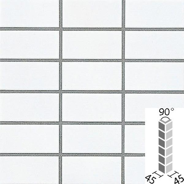 タイル プレインカラーネオ ベースカラー 90°曲紙張り COM-155/90-14/DPL-1 / LIXIL INAX