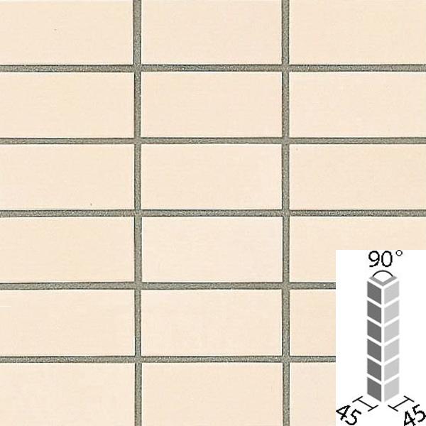 タイル プレインカラーネオ ベースカラー 90°曲紙張り COM-155/90-14/DPL-11 / LIXIL INAX