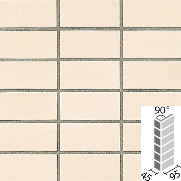 タイル プレインカラーネオ ベースカラー 90°曲紙張り COM-255/90-14/DPL-11 / LIXIL INAX