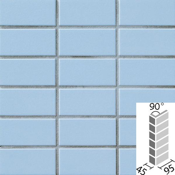タイル プレインカラーネオ ベースカラー 90°曲紙張り COM-255/90-14/DPL-23 / LIXIL INAX
