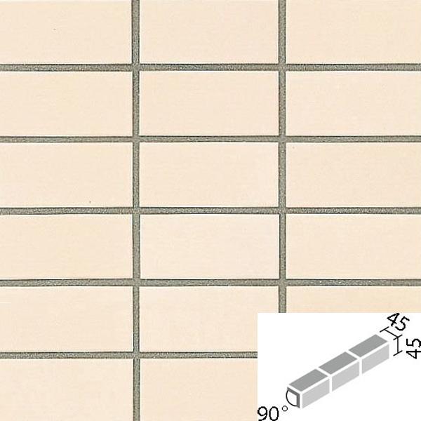 タイル プレインカラーネオ ベースカラー 90°屏風曲紙張り COM-255/90-15/DPL-11 / LIXIL INAX