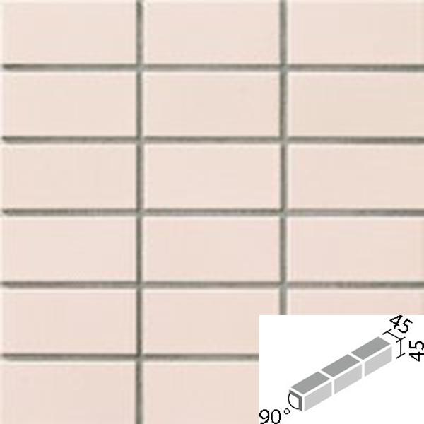 タイル プレインカラーネオ ベースカラー 90°屏風曲紙張り COM-255/90-15/DPL-32 / LIXIL INAX