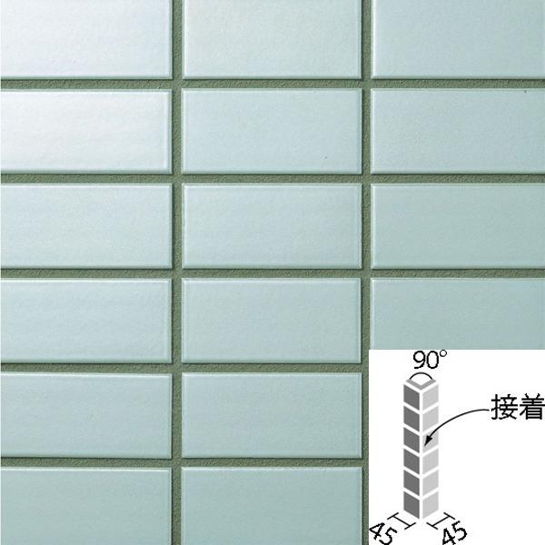 タイル ラスターカラー2 50mm角 90°曲紙張り(接着) COM-155/90-14S/NLT-5 / LIXIL INAX