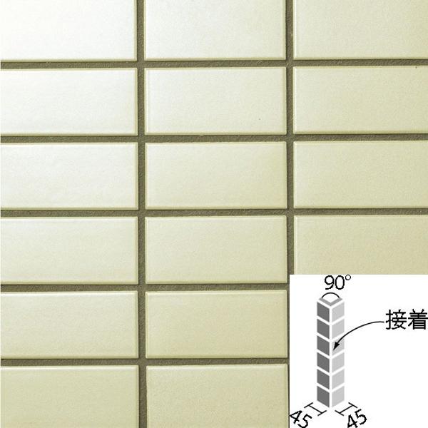 タイル ラスターカラー2 50mm角 90°曲紙張り(接着) COM-155/90-14S/NLT-6 / LIXIL INAX