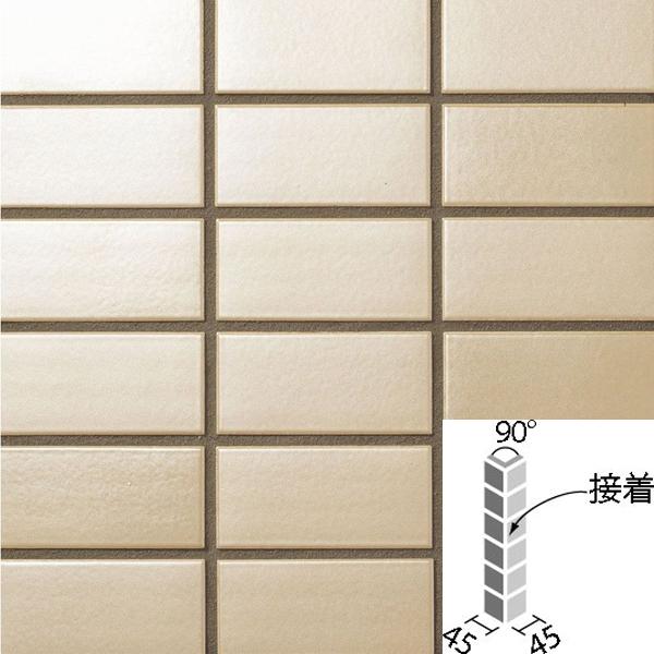 タイル ラスターカラー2 50mm角 90°曲紙張り(接着) COM-155/90-14S/NLT-7 / LIXIL INAX