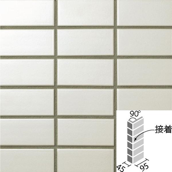 タイル ラスターカラー2 50mm二丁 90°曲紙張り(接着) COM-255/90-14S/NLT-1 / LIXIL INAX