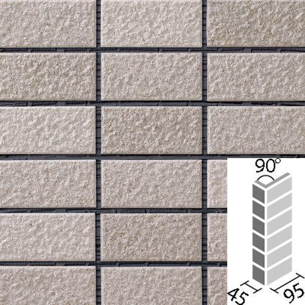 タイル レイツロックアルファ2[モルタル張り用] 90°曲紙張り COM-255/90-14/CFR-602 / LIXIL INAX