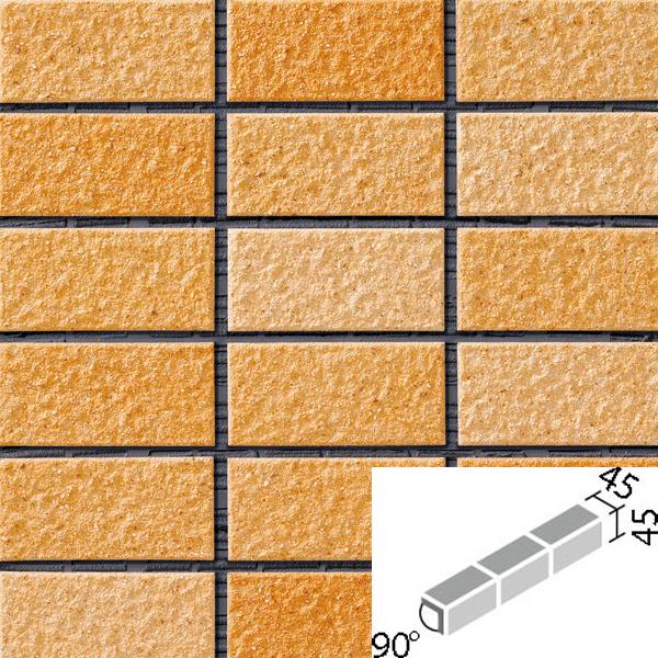 タイル レイツロックアルファ2[モルタル張り用] 90°屏風曲紙張り COM-255/90-15/CFR-608 / LIXIL INAX