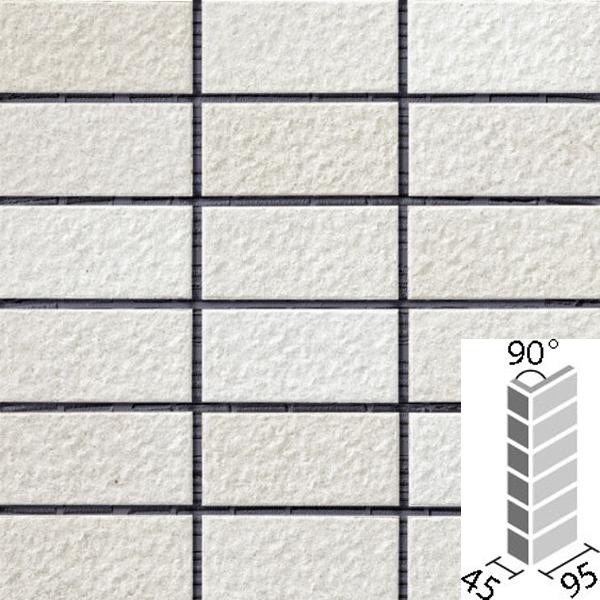 タイル ルガーレネクスト[モルタル張り用] 90°曲紙張り COM-255/90-14/NRG-1 / LIXIL INAX