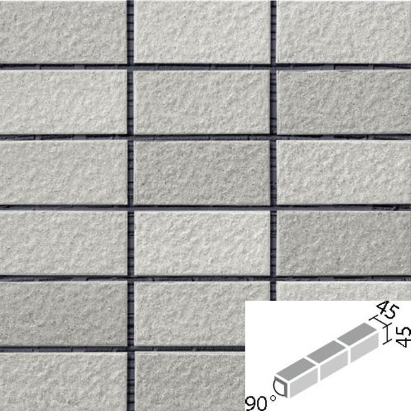 タイル ルガーレネクスト[モルタル張り用] 90°屏風曲紙張り COM-255/90-15/NRG-4 / LIXIL INAX