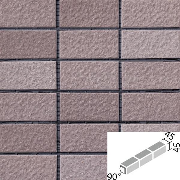 タイル ルガーレネクスト[モルタル張り用] 90°屏風曲紙張り COM-255/90-15/NRG-5 / LIXIL INAX