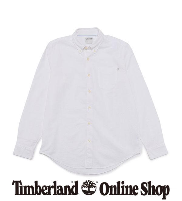 【公式】ティンバーランド メンズ 長袖 ゲイル リバー オックスフォード シャツ Timberland