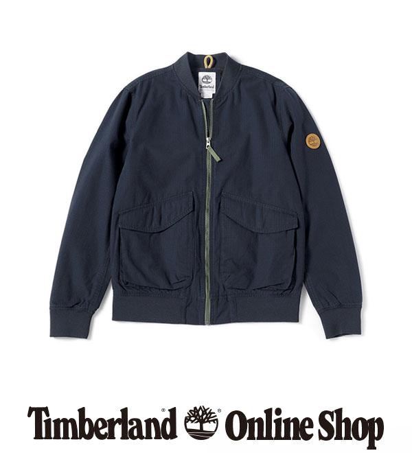 【公式】ティンバーランド メンズ ニュー イプスウィッチ マウンテン トラベル ボンバー ジャケット Timberland
