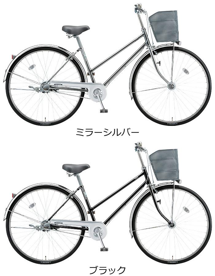 【完売】ブリヂストン 自転車 27インチ シティサイクル S型 内装5段変速付 点灯虫 LEDオートライト付 シンプルでスタンダード スポーティで乗りやすい 通学用自転車 通勤用自転車 としても人気 ブリジストン シンプルなデザインとお求めやすい価格 通販