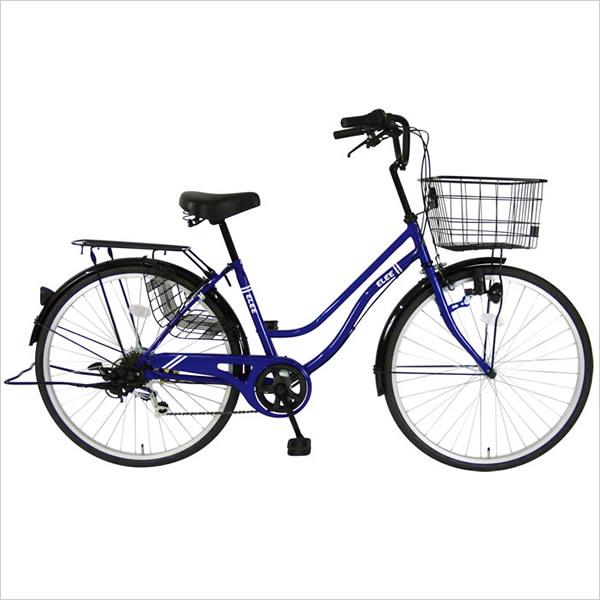 C.Dream/PROGEAR エリー 26インチ 6段変速付 人気タウンサイクル お買得 婦人車 シードリーム プロギア ママチャリ CDREAM ブランド 当店限定モデル 26型 6段ギア付 サイクリング 自転車 シティサイクル