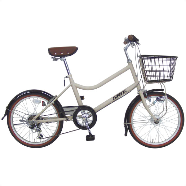 C.Dream/PROGEAR スキット 20インチ 外装6段変速付 LEDオートライト付 お洒落で乗りやすいデザインのコンパクトモデル 小径車 小径自転車 ミニベロ 激安価格 シードリーム プロギア CDREAM ブランド 6段ギア付 サイクリング 自転車 小径自転車・ミニベロ