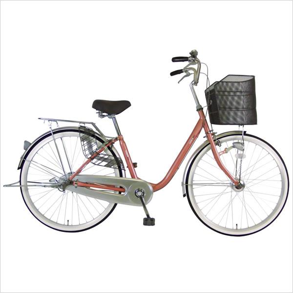 C.Dream/PROGEAR ソナタ 26インチ 変速なし LEDオートライト付 乗りやすさが人気の定番シティサイクル シードリーム プロギア ママチャリ 婦人車 CDREAM ブランド 当店限定モデル ソナタオートライト サイクリング 自転車 シティサイクル
