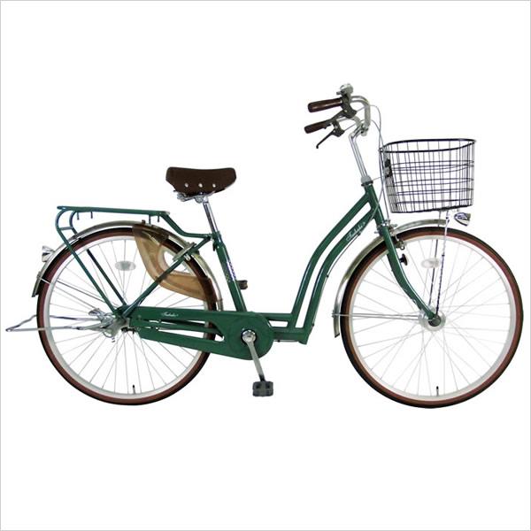 C.Dream/PROGEAR 椿 ツバキ DXモデル 26インチ 変速なし LEDオートライト付 お洒落で乗りやすいデザインとカラーが人気 ママチャリ 婦人車 シードリーム プロギア CDREAM ブランド 当店限定モデル つばき サイクリング 自転車 シティサイクル