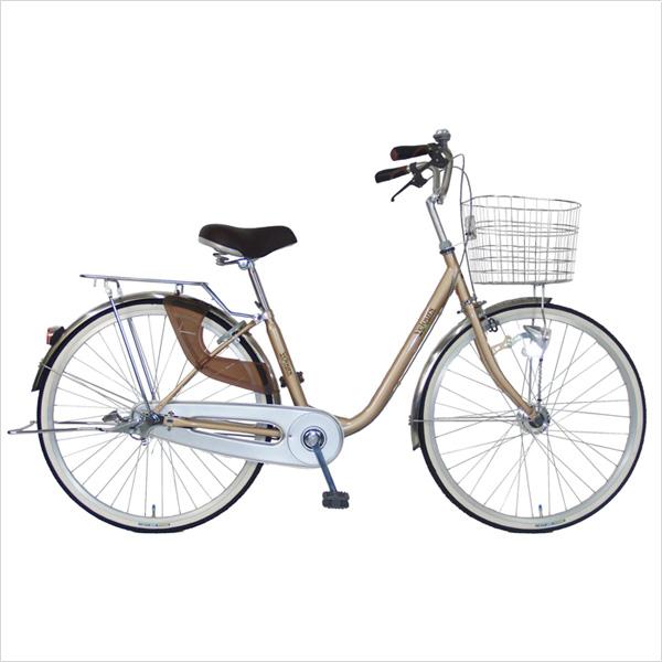 C.Dream/PROGEAR ヴェロアスペシャル DXモデル 26インチ 変速なし オートライト付 当店ロングセラーモデルのママチャリがリニューアル 乗りやすさとデザインが人気の婦人車 シティサイクル 激安価格 シードリーム 通勤自転車 ブランド 当店限定モデル ベロア 26型 自転車