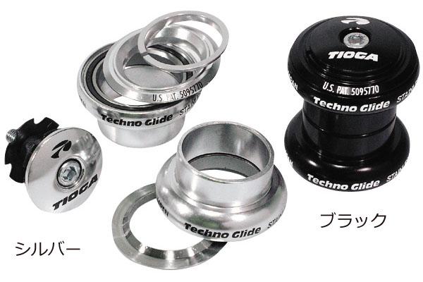 【スポーツ 自転車 パーツ ヘッドセット】TIOGA タイオガ TECHNO GLIDE テクノグライド HDN05800-01 M