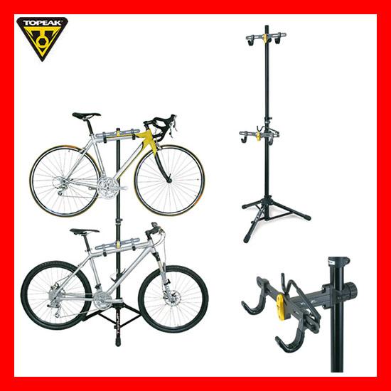 【送料無料】【自転車 ストレージスタンド バイク スタンド 】TOPEAK トピーク TwoUp TuneUp Bike Stand ツーアップ チューンナップ バイクスタンド TOD02400 M