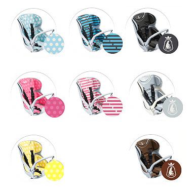 【ブリヂストン 子供乗せクッション】 自転車ビッケ(bikke)用 リヤチャイルドシートクッション BIK-K.A
