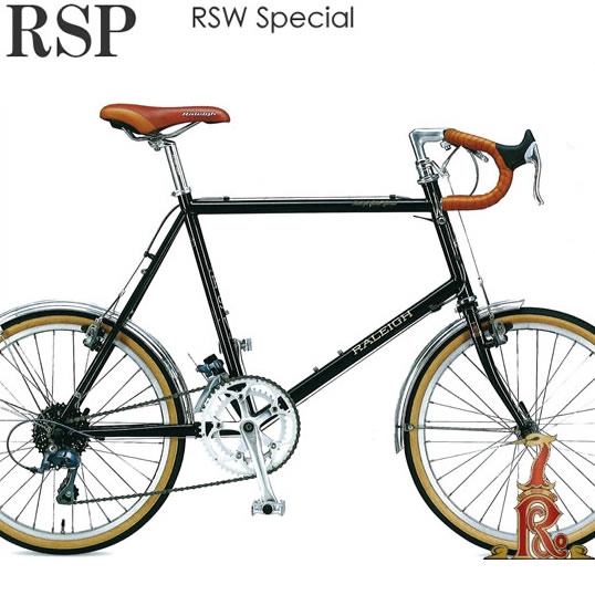 【送料無料※一部地域対象外】Raleigh RSP RSW Special ラレー RSWスペシャル 20×1-3/8インチ(451) 外装16段変速 2018年モデル シマノ CLARIS採用 ツーリングミニベロ 長距離走行も安定の小径車