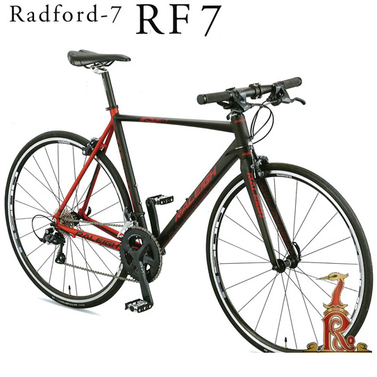 【送料無料】Raleigh RF7 Radford-7 ラレー ラドフォード7 700×25C 外装18段変速 2019年モデル シマノ SORA採用 ロード系コンポ採用 アルミフレーム製フラットバーロード クロスバイク