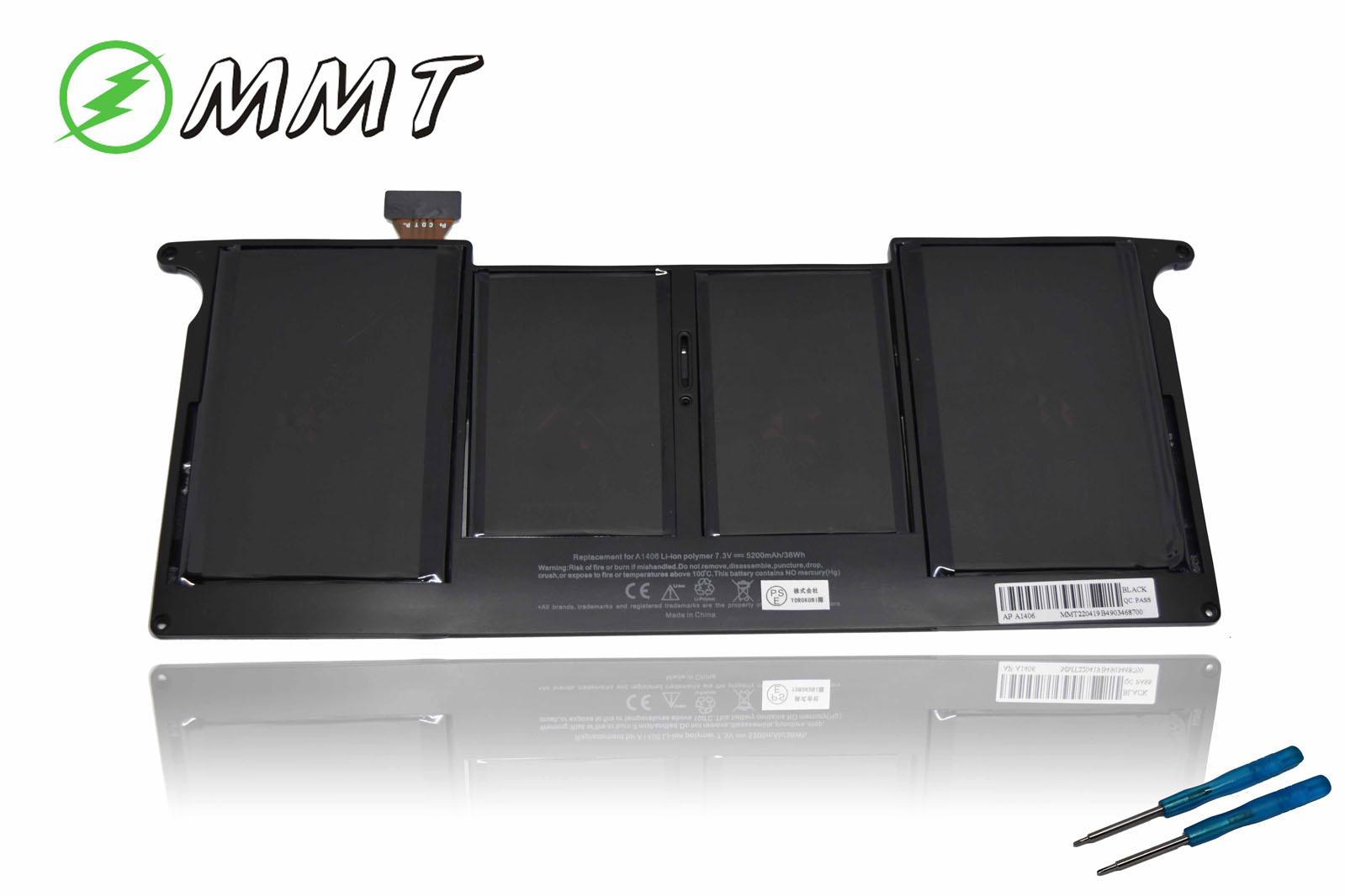 全国送料無料 最安値徹底挑戦 日本国内向け NEW ブランドセル使用 アップル 新品 APPLE MacBook Air 11 Inch A1495 A1406 まとめ買い特価 バッテリー A1465 A1370 互換