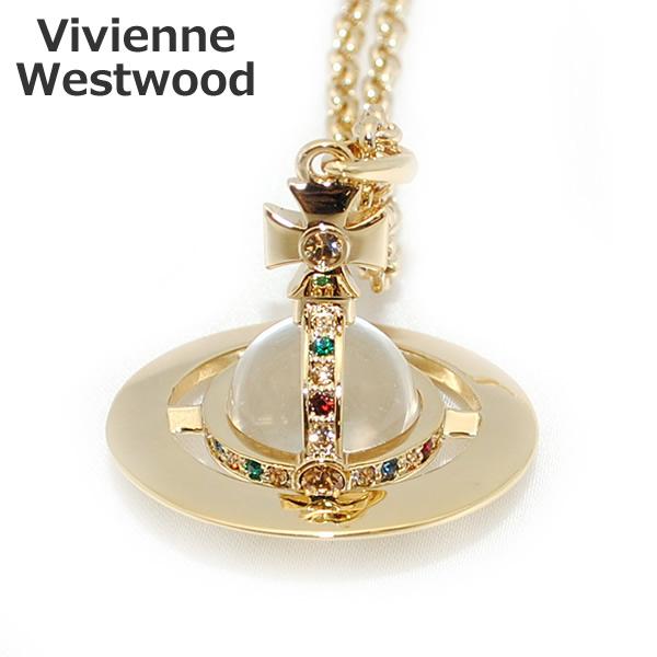 Vivienne Westwood (ヴィヴィアンウエストウッド) ペンダント ネックレス 1465-14-01 ニュースモールオーブ ゴールド アクセサリー メンズ レディース 【送料無料(※北海道・沖縄は1,000円)】