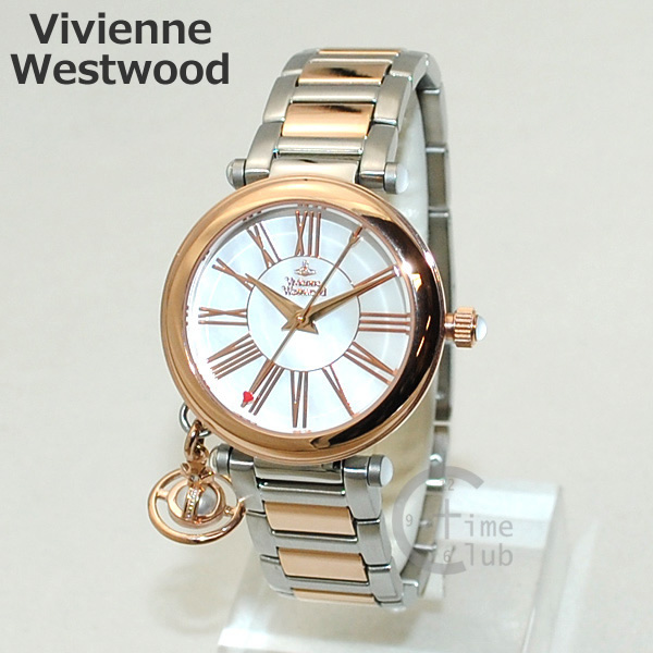 Vivienne Westwood (ヴィヴィアンウエストウッド) 腕時計 VV006PRSSL ORB 時計 レディース ヴィヴィアン ビビアン 【送料無料(※北海道・沖縄は1,000円)】
