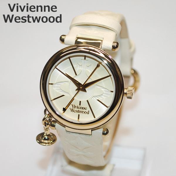 Vivienne Westwood (ヴィヴィアンウエストウッド) 腕時計 VV006WHWH ORB 時計 レディース ヴィヴィアン タイムマシン 【送料無料(※北海道・沖縄は1,000円)】