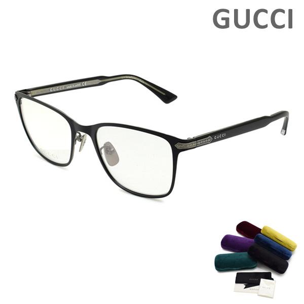 グッチ メガネ 眼鏡 フレーム のみ GG0070O-001 ブラック メンズ GUCCI 【送料無料(※北海道・沖縄は1,000円)】
