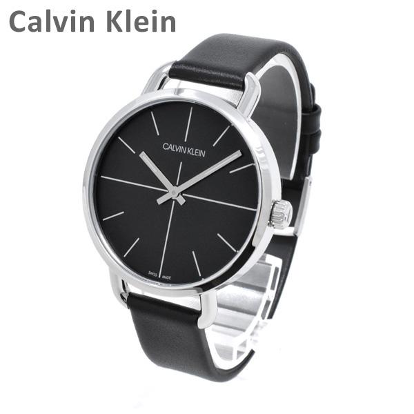 Calvin Klein CK カルバンクライン 時計 腕時計 K7B231CZ EVEN EXTENSION イーブンエクステンション ブラック/ブラック レザー レディース ウォッチ クォーツ 【送料無料(※北海道・沖縄は1,000円)】