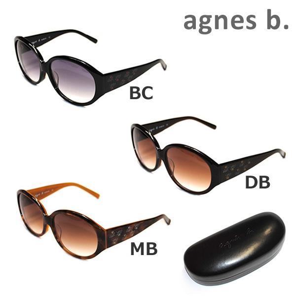 agnes ブランド買うならブランドオフ b アニエスベー サングラス 眼鏡 めがね メガネ グラサン 国内正規品 b. AB-2800DB アジアンフィット ※北海道 UVカット AB-2800MB 沖縄は配送不可 レディース 値下げ 送料無料 AB-2800BC