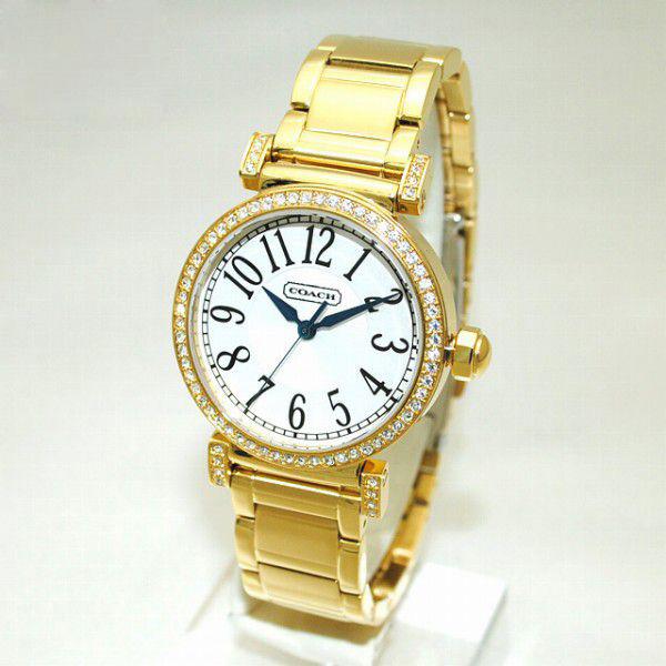 COACH (コーチ) 腕時計 14501724 ゴールド レディース 時計 ウォッチ ブレス 【送料無料(※北海道・沖縄は1,000円)】【楽ギフ_包装選択】