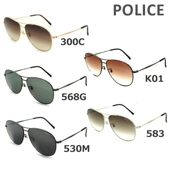 【国内正規品】 POLICE (ポリス) サングラス S8806J 568G K01 530M 583 300C メンズ UVカット 【送料無料(※北海道・沖縄は1,000円)】