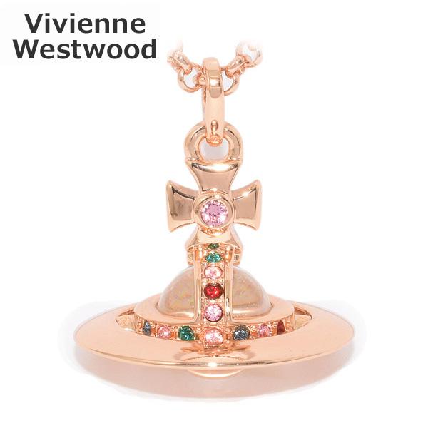 Vivienne Westwood (ヴィヴィアンウエストウッド) ペンダント ネックレス 63020097 G002 ニュータイニーオーブ ピンクゴールド アクセサリー メンズ レディース 【送料無料(※北海道・沖縄は1,000円)】