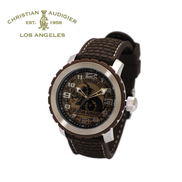 Christian Audigier (クリスチャンオードジェー) 時計 腕時計GRA-414【送料無料(※北海道・沖縄は1,000円)】【楽ギフ_包装選択】