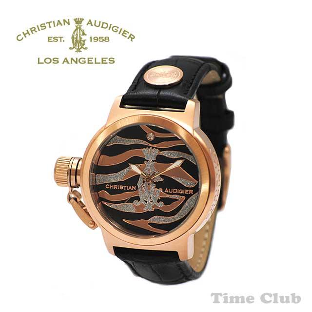 Christian Audigier (クリスチャンオードジェー) 時計 腕時計 INT-334【送料無料(※北海道・沖縄は1,000円)】【楽ギフ_包装選択】