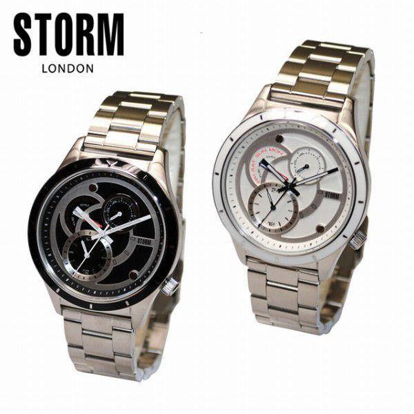 STORM LONDON(ストームロンドン) 時計 腕時計 BLAKE 47141 メンズ 国内正規品 47141BK ブラック 47141W ホワイト【送料無料(※北海道・沖縄は1,000円)】