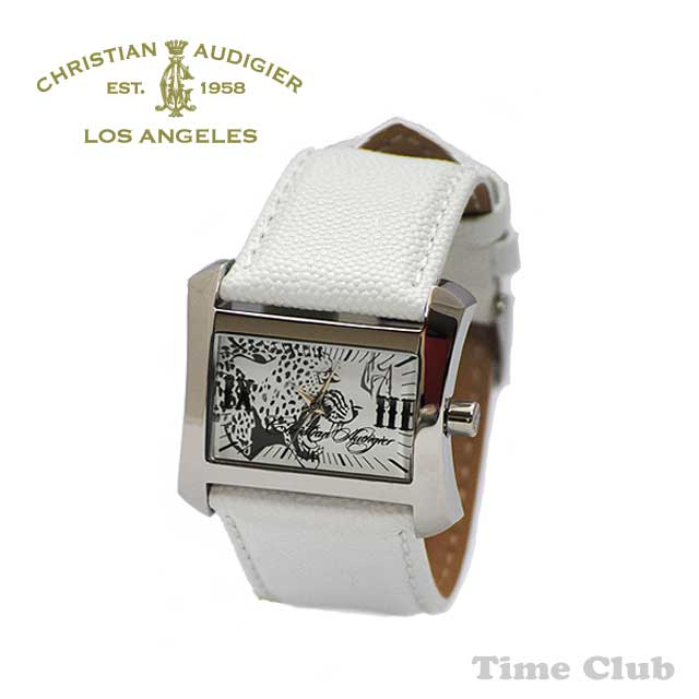 Christian Audigier (クリスチャンオードジェー) 時計 腕時計TWC-406レディース【送料無料(※北海道・沖縄は1,000円)】【楽ギフ_包装選択】