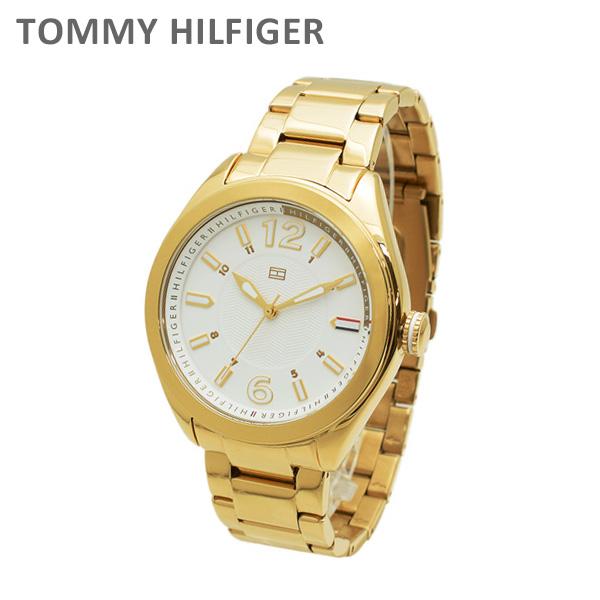 トミーヒルフィガー 腕時計 1781370 ブレス ゴールド/ホワイト レディース TOMMY HILFIGER 【送料無料(※北海道・沖縄は1,000円)】