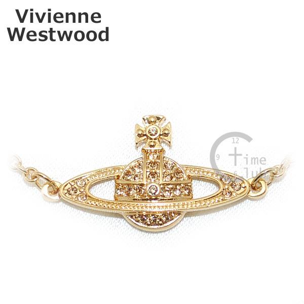 Vivienne Westwood (ヴィヴィアンウエストウッド) ブレスレット 0660-14-62 ゴールド ミニバスレリーフ アクセサリー レディース 【送料無料(※北海道・沖縄は1,000円)】