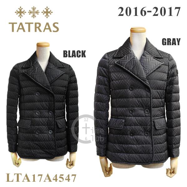 TATRAS ダウンジャケット タトラス ダウン レディース LTA17A4547 コート ショート BLACK ブラック GRAY グレー ジャケット 2016-2017 【送料無料(※北海道・沖縄は1,000円)】