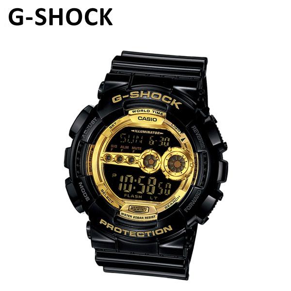 《S》【国内正規品】 CASIO(カシオ) G-SHOCK(Gショック)GD-100GB-1JF 時計 腕時計 【送料無料(※北海道・沖縄は1,000円)】(casio-gd-100gb-1jf)
